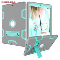 For Coque IPad Pro 10 5 Case Shock Absorption Armor Defender Case Hybrid PC Rugged Silicone