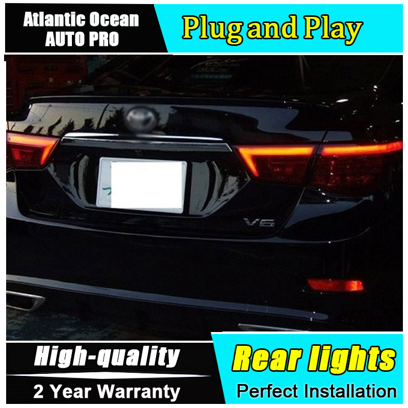 Car Styling for Toyota Reiz Mark X LED Taillights 2010 2012 for Mark X LED Tail