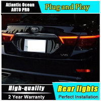 Car Styling for Toyota Reiz Mark X LED Taillights 2010 2012 for Mark X LED Tail Lamp Rear Lamp Fog Light For 1Pair ,4PCS