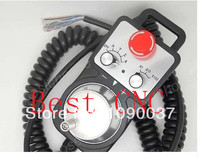 Free Shipping Mach3 4 Axis with Emergency Stop MPG Pendant Handwheel