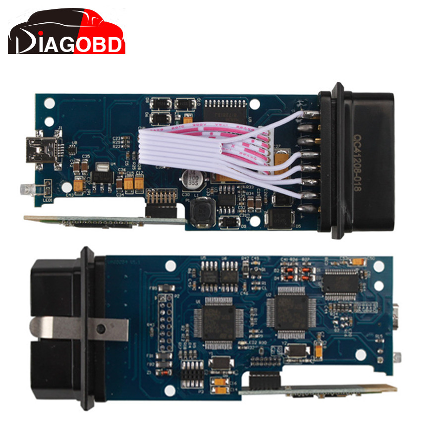 Prix pour VAS V19 VAS 5054A Bluetooth Scanner Pour VW/AUDI/SKODA/SEAT Avec OKI Puce