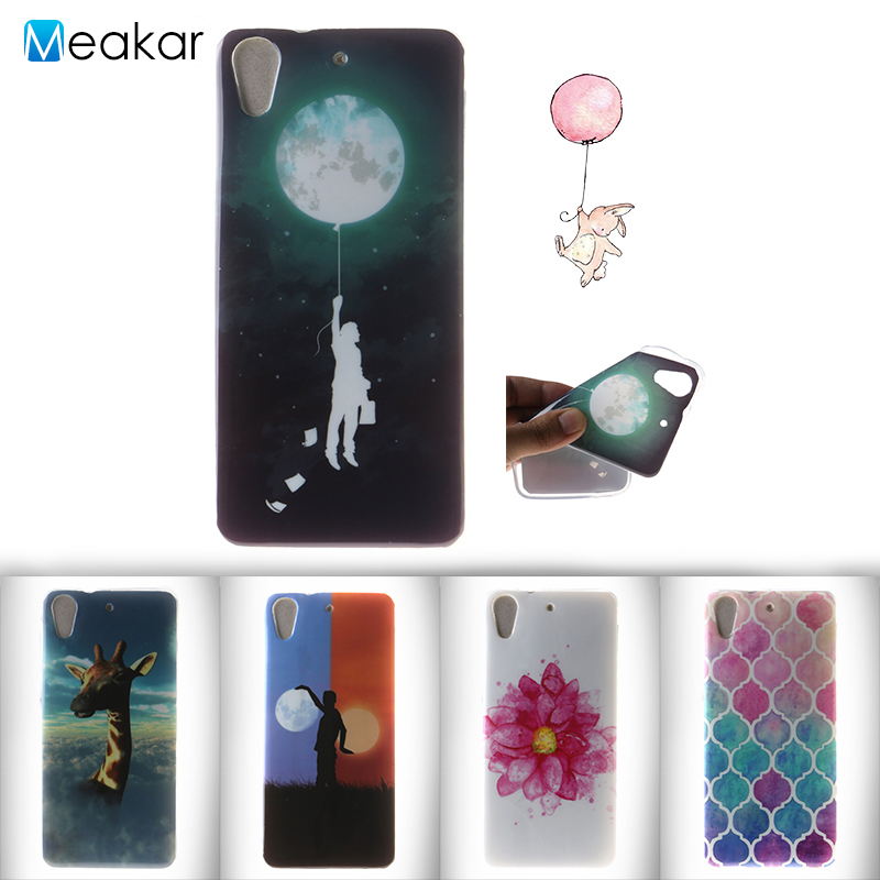 Fashion coloured drawing TPU 5 0for HTC Desire 626 Case For HTC Desire 626 626W 626G