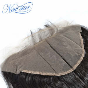 Image 3 - New Star Brazilian Straight Virgin Hair 13x6 Lace Frontal Closures 100% Human Hair Pre Plucked Hairline With Baby Hair Closure