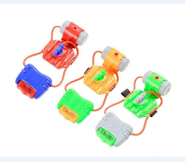Summer Beach Outdoor Shooter Toy Water Fight Pistol  Wrist Water Guns Beach Parent-Child Interactive Mini Water Gun Boy Gift