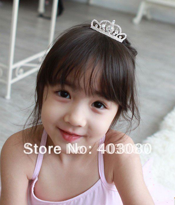 South Korea style girl  Alloy crown design hair combs,kid Headwear,girl Alice band,Free freight wholesale
