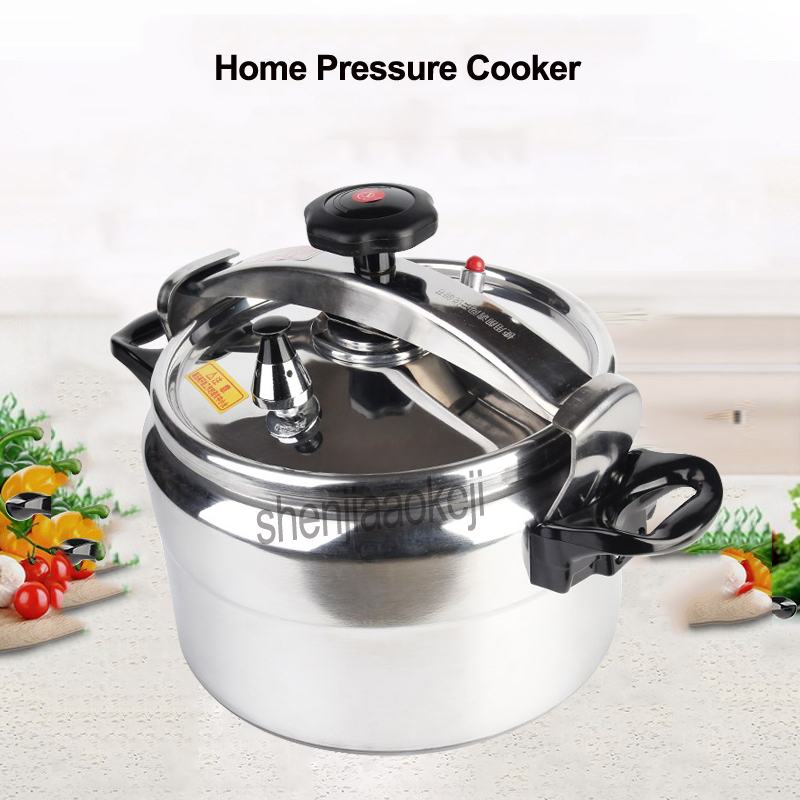 Home 3L Capacity Pressure Cooker Commercial Gas Cooker Explosion-proof pressure cooker Aluminum alloy Stew Pot Kitchen CookwareHome 3L Capacity Pressure Cooker Commercial Gas Cooker Explosion-proof pressure cooker Aluminum alloy Stew Pot Kitchen Cookware