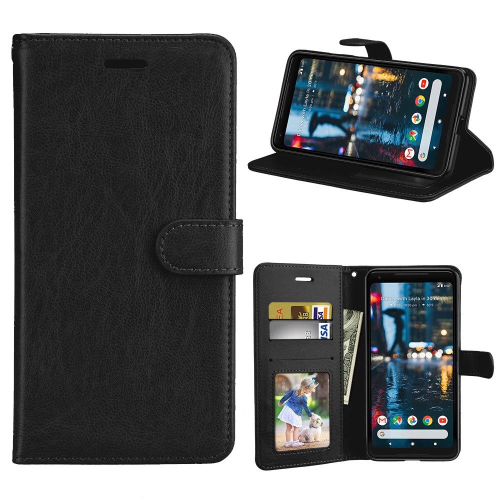 Card Wallet Flip PU Leather 6.0For Google Pixel 2 XL Case For Google Pixel 2 XL Cell Phone Back Cover Case