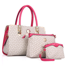 New designer hand bag quality leather famous brand bags women purses and handbags three-piece women bags ladies shoulder bag