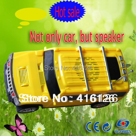 Hifi Digitale Versterker Auto Speaker Met Sd/tf Card Muziek Computer Luidsprekers Met Fm Radio Speelgoed Flash Led Licht