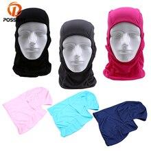 Posbay велосипедная маска для лица анти-Пылезащитная велосипедная термальная Балаклава Шарф Зимний флис теплый Полный лицевой чехол Ветрозащитная маска для сноуборда