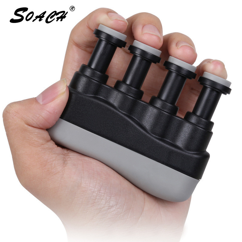 SOACH Guitar fingers training piano practice guzheng grip strength guitar musical instrument accessories finger exercise machine mini strength finger exerciser kids child mini finger exerciser guitar bass piano beginner trainer fa 12 guitar accessories
