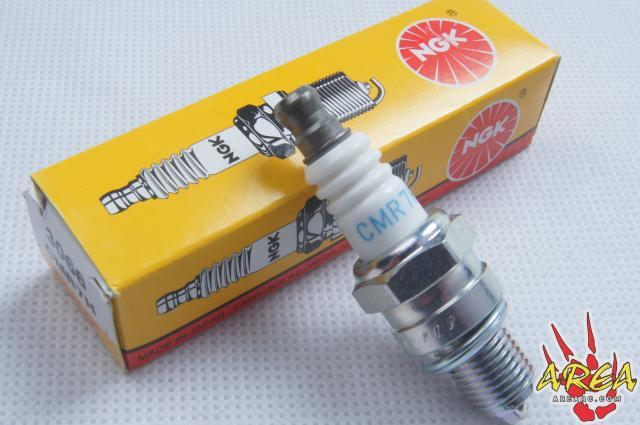 NGK CMR7H Spark Plug Fits HPI Baja 5T 5B LOSI CY Rovan Zenoha King Motor rovan gas baja 30 5cc 4 bolt chrome engine with walbro carb and ngk spark plug for 1 5 scale hpi km losi rc car parts