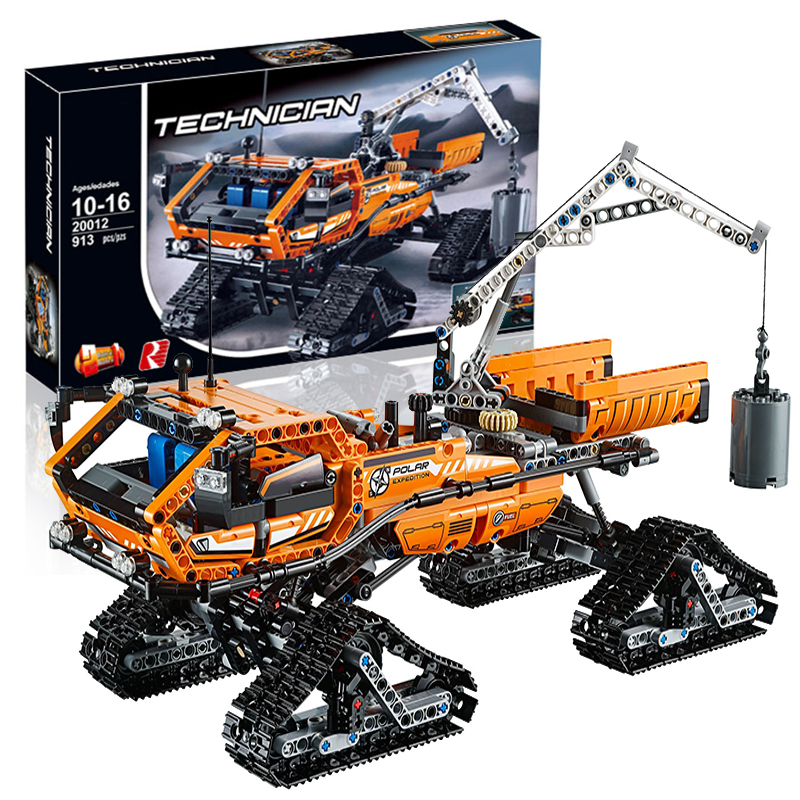 Lepin 20012 Arctic Truck building bricks blocks Toys for children boys Game Model Car Gift Compatible with Bela 42038 lepin 22001 imperial flagship building bricks blocks toys for children boys game model car gift compatible with bela decool10210