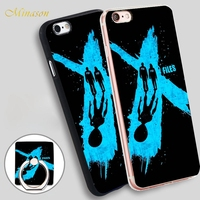 Minason The X Files blue Soft TPU Silicone Phone Case Cover for iPhone X 8 5 SE 5S 6 6S 7 Plus
