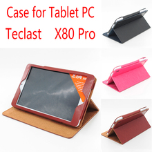 New Arrival Luxury Teclast x80 pro case PU Leather Case with Holder for Teclast X80 pro 8 inch Tablet pc in stock