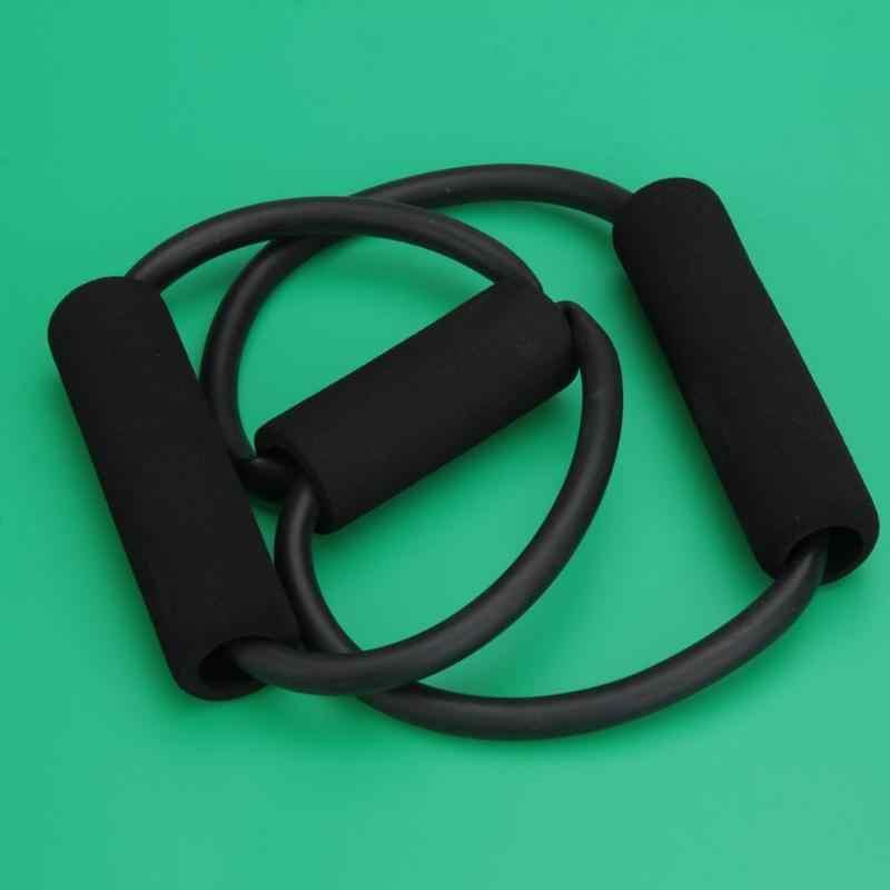 8 typ joga ciągnąć rura linowa gumowe lateksowe mięśni pas treningowy zespół elastyczna ciągnąć liny siłownia sprzęt Fitness kolor losowo Z50