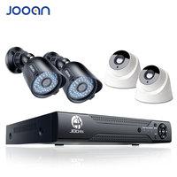 JOOAN 8ch DVR домашней безопасности камера системы 4 шт. 720 P ИК Ночное Видение открытый 1080N система видеонаблюдения аналоговая камера высокого раз...