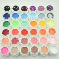 Nouveau 36 Pure Couleurs UV Gel Nail Set Vernis A Ongles Art Outils Gel Vernis Manucure