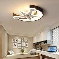 Chandelierrec творчески детская комната светодиодный Потолочные светильники для фойе гостиная спальня Регулируемый потолочный светильник для с