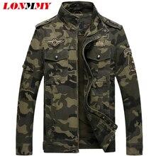 wojskowa zimowe mężczyzna płaszcz