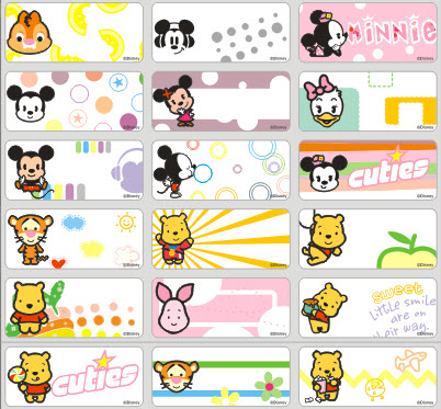 72pcs personalized waterproof cartoon name sticker name labels name