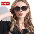 NOSSA Grande Quadro óculos de Sol das Mulheres Polarizada óculos de Sol de Moda Feminina Óculos de Sol de Marcas De Luxo