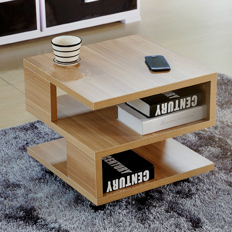 Cheap Office Modern Minimalist Living Room Coffee Table Fashion Simple  Small Apartment Squares Moving Side Table Assembly In Coffee Tables From  Furniture On ...
