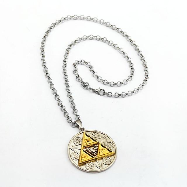 The Legend of Zelda Necklace Magic Coin Pendant