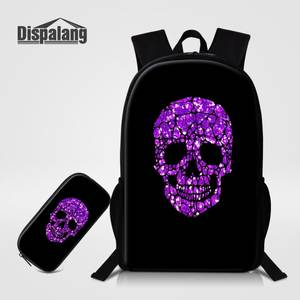 Dispalang 2 PCS Backpack School Bags For Bagpack Mens aab2e6cca0
