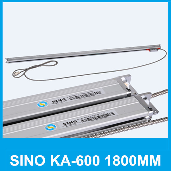 Free shipping linear scale SINO KA-600 1800mm 5micron TTL absolute encoder KA600 0.005mm 1800mm shaft encoder Lathe accessories free shipping high precision easson gs11 linear wire encoder 850mm 1micron optical linear scale for milling machine cnc