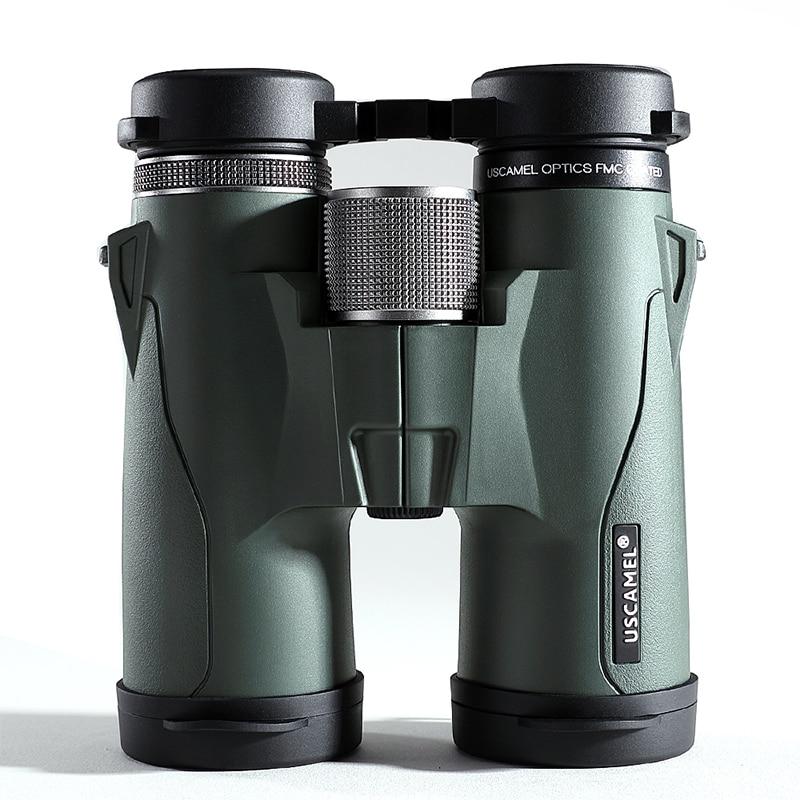 USCAMEL Binoculars 8x42 Military HD High Power Telescope Professional Hunting Outdoor,Army Green Бинокль