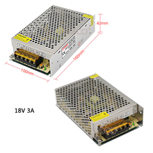 DC18V Regulated Switching Power Supply 2A/3A/5A/10A/20A Swich Driver Transformer AC110V 220V to DC 18v For LED Strip Light CNC цена и фото