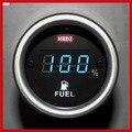Новый Всеобщая Цифровой Номер 12 В/24 В Мотоцикл Топлива Масляного Манометра Метр LED Мазута Шкала уровня дисплей Индикатор