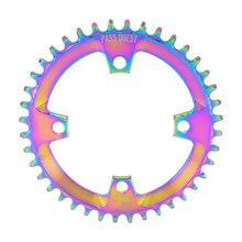 PASS QUEST 104BCD New Titanium-plated MTB Narrow Wide Chainring/Chain Ring 32T-48T Bike Chainwheel/Chain Wheel deore Crankset