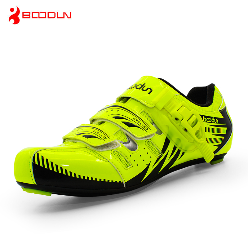 Boodun Road Cycling Shoes Men Outdoor Sport Bicycle Shoes Self-Locking Professional Racing Road Bike Shoes zapatillas ciclismo sidebike mens road cycling shoes breathable road bicycle bike shoes black green 4 color self locking zapatillas ciclismo 2016