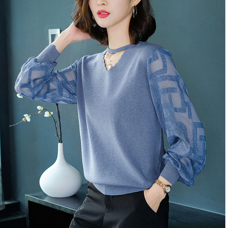 Women Spring Thin Pullovers Tops Fashion Knitted Summer 2019 Causal Knitting Long Sleeve Pull Ladies Knitwear Jumper Pull Female