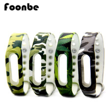 New Arrival Camouflage Replacement Bracelet For Xiaomi For Miband 1s 1a Smart Wristband Silicone Strap Belt