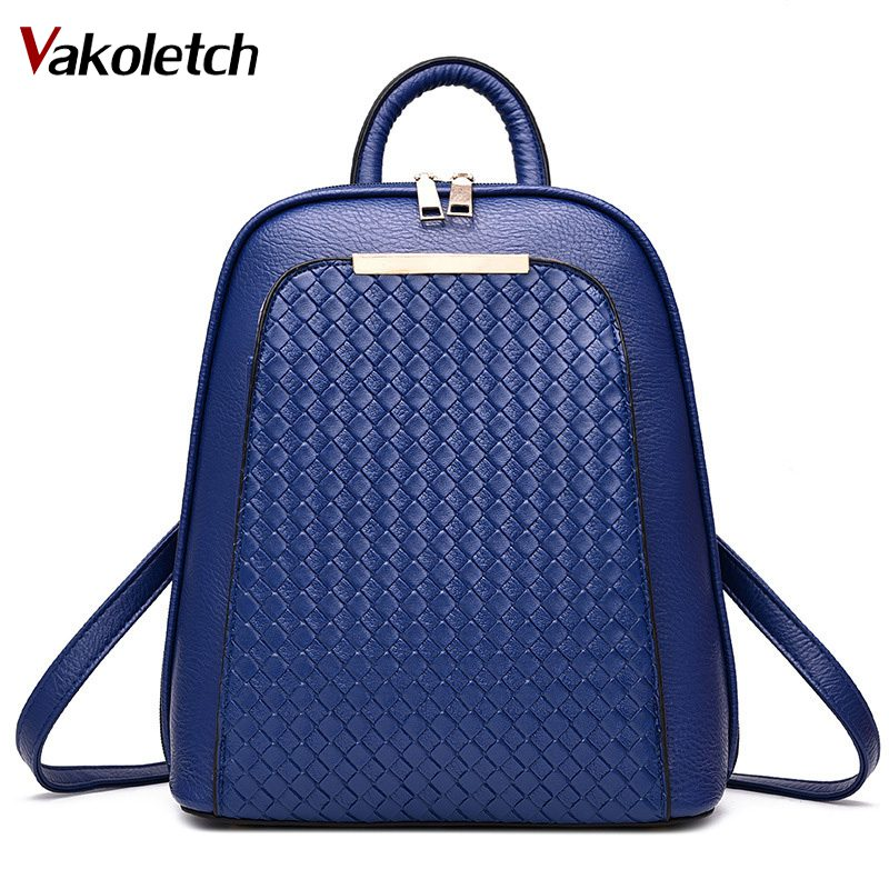 Women Backpack School Bag for teenage girls 2019 tide female backpack new students fashion casual PU leather womens bag KL479Women Backpack School Bag for teenage girls 2019 tide female backpack new students fashion casual PU leather womens bag KL479