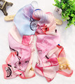 Women 100% Natural Silk Scarf Lady Shawls And Scarves Foulard Female Fashion Luxury Brand Horse Vehicle Bandana 180*65cm J7