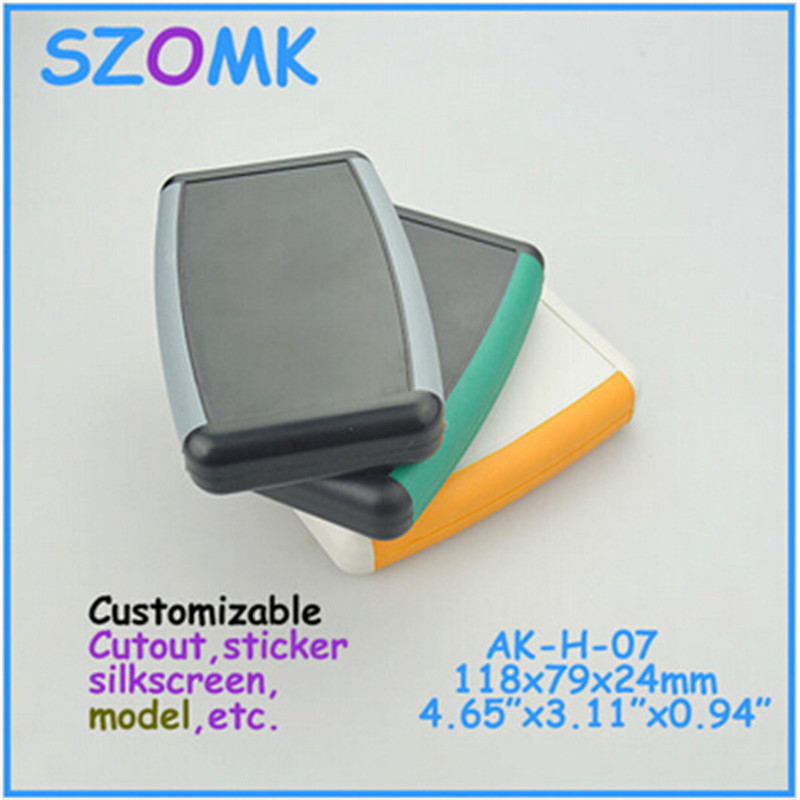 4 pieces a lot 2015 new supplier plastic case for electronics 118 79 24mm szomk abs