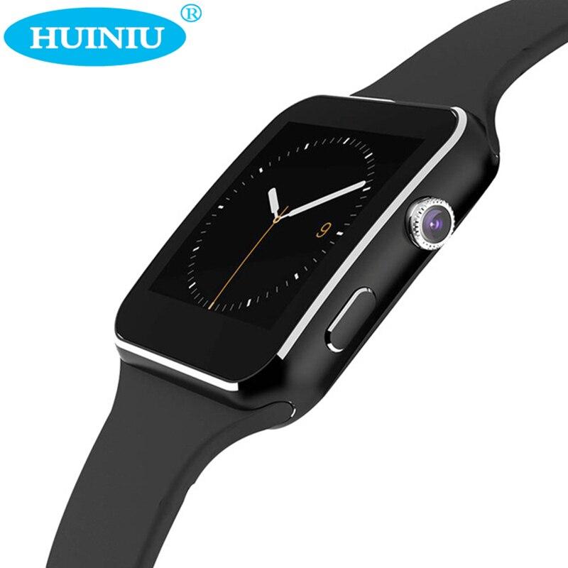 imágenes para X6 Pantalla Curva E6 Bluetooth Reloj Inteligente Reloj Con Ayuda de La Cámara de Tarjetas SD SIM reloj inteligente Reloj de Pulsera Para Teléfonos Android