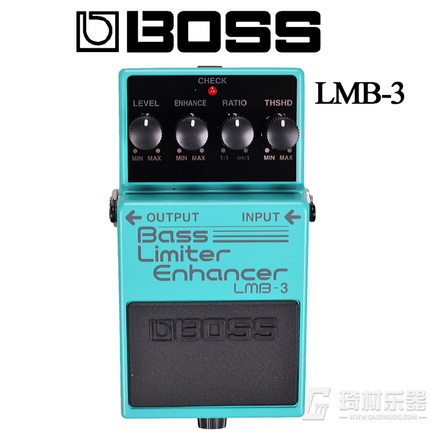 Boss Audio LMB-3 Bass Limiter / Enhancer Pedal for Bass Guitar boss cs 3