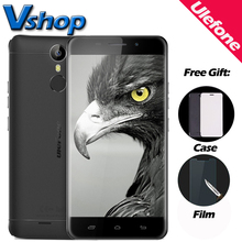 Оригинальный Ulefone Metal 4 г мобильные телефоны Android 6.0 3 ГБ Оперативная память 16 ГБ Встроенная память восьмиядерный смартфон 720 P 8MP Dual Sim 5.0 дюймов сотовый телефон