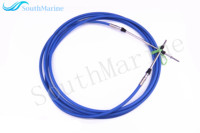 ABA CABLE 18 GY Outboard Engine Remote Control Throttle Shift Cable 18ft For Yamaha Boat Motor