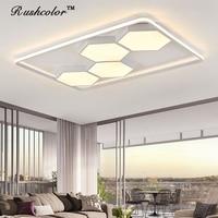 Acrílico Modern LED Luzes de Teto para sala de estar quarto sala de jantar lâmpada do teto para casa iluminação luminárias frete grátis|Luzes de teto| |  -