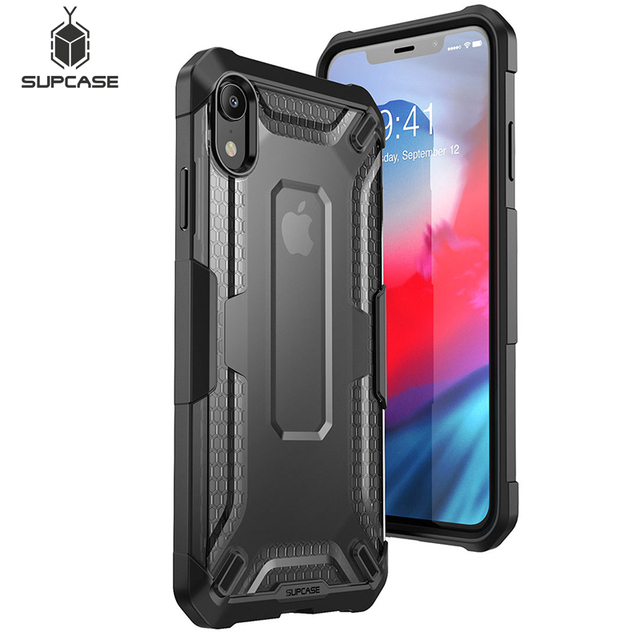 SUPCASE For iphone XR Case UB Series Premium Hybrid Protective TPU Bumper + PC Clear Back Phone Cover For iphone Xr 6.1 inch