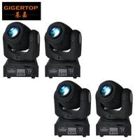 Wholesale price 4pcs/lot 10W New Disco nightclub dj Mini 10W led Moving Head spot Lights 7gobo 7 color DMX 4/12CH led spot light