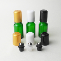 50pcs Lot Glass Steel Roller Ball With Black White Gold Cover For 5 10 15 20