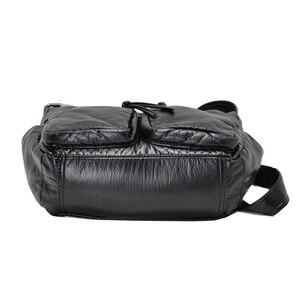 Image 4 - Burlie sacs à Main en cuir PU souple pour femmes, sacoches de bonne qualité pour dames, Sac à épaule de luxe lavé, nouvelle collection