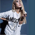 2017  Cl spokesman 's 2ne1 for m fleece outerwear long-sleeve o-neck lovers and women sweatshirt